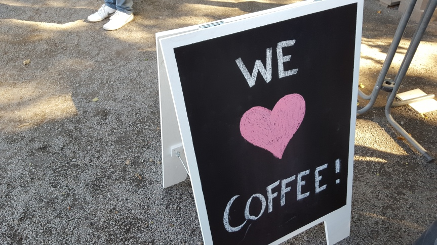 Yes we do! Visiting the Coffee Festival at Södra Teatern