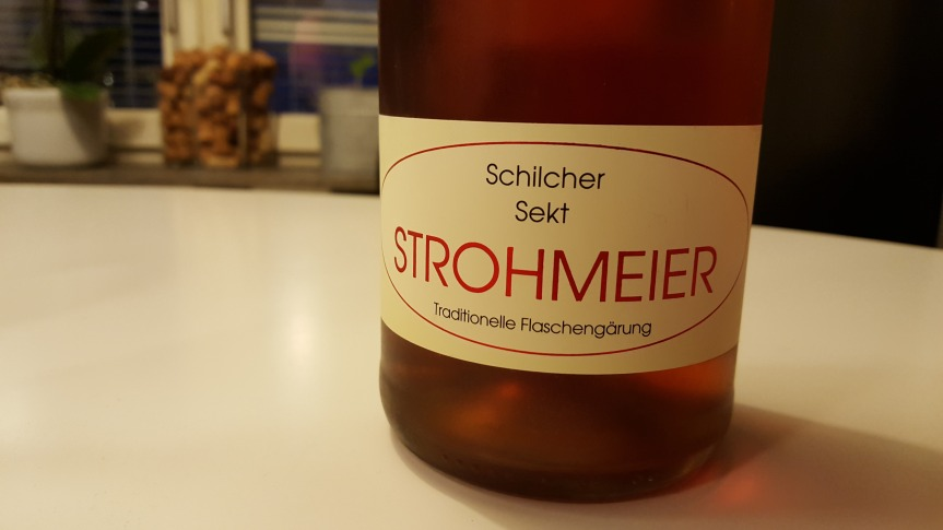 Wine Review: Strohmeier Rose Sekt Brut Nature