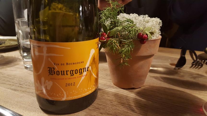 Bourgogne red by Japanese Koji Nakada