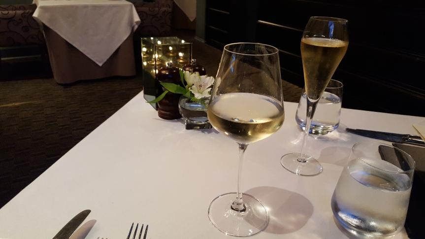 Aperitifs at restaurant Mark Greeneway