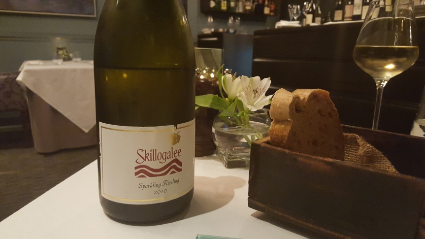 Skillogalee sparkling Riesling from Australia