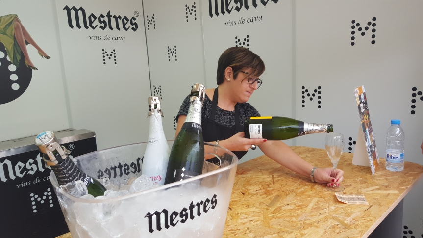 At the Mestres stand at Cavatast 2015