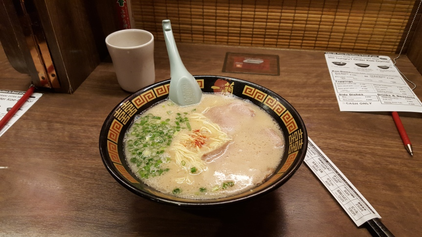 After all that fine dining Ramen has never tasted so good