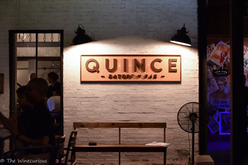 Hanging out at Quince BKK