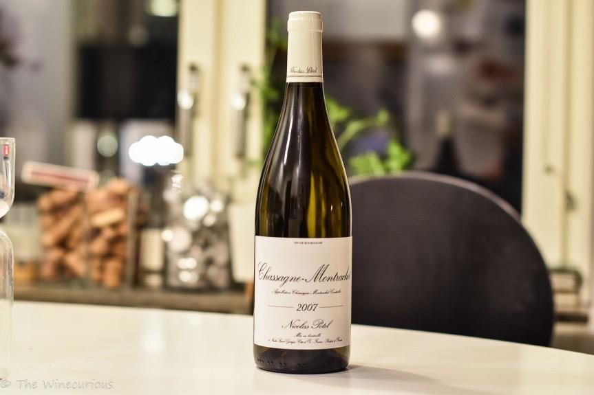 Wine Review: Maison Nicolas Potel Chassagne-Montrachet Vielles Vignes2007