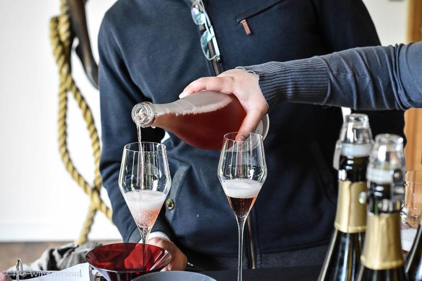 Tasting Biodynamic Champagnes at Larmandier-Bernier