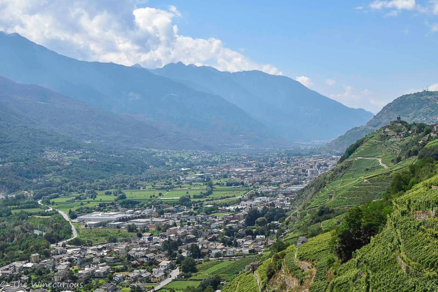 Views over Valtellina