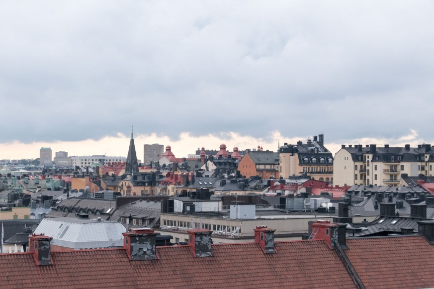 On the Rooftops of Stockholm