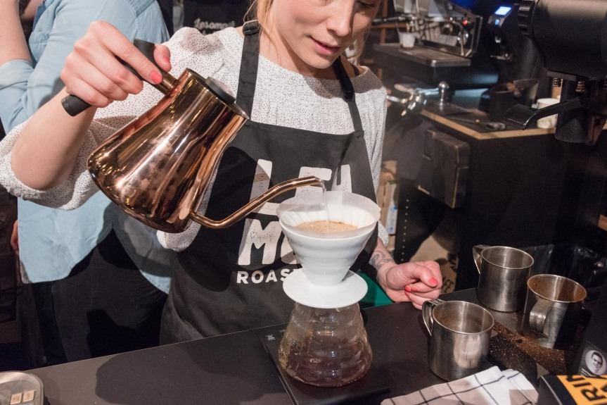 At the Helsinki Coffee Festival