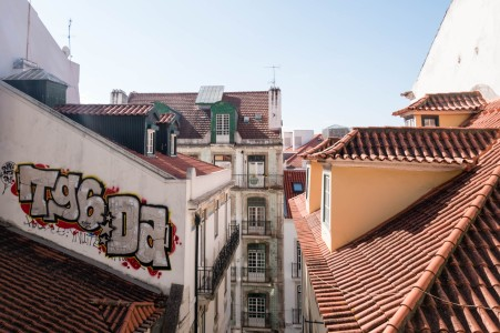 Graffiti is a part of the scenery in Lison. Photo: Soile Vauhkonen