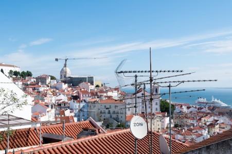 The famous rooftops of Lisbon. Photo: Soile Vauhkonen